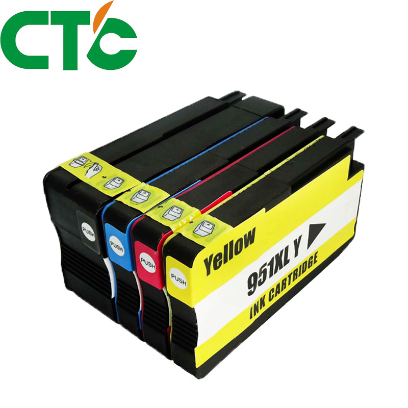 4 Pack Compatible Ink Cartridge Replacement for HP 950 951 xl for HP Officejet Pro 8600 8620 8630 276dw 8640 8660 8615 8625