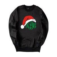 New Arrival Christmas Gift Hoodie Capless Sweatshirts Funny Print Merry Christmas Clothing Men Women Plus Size