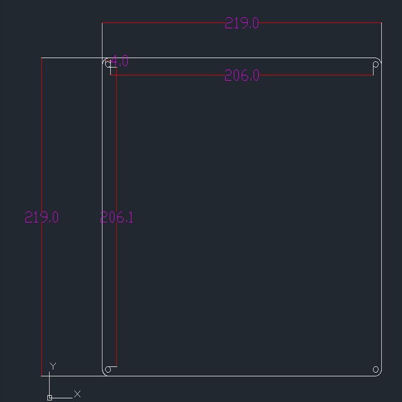 impressora 3d para prusa i3 220mm cama 03