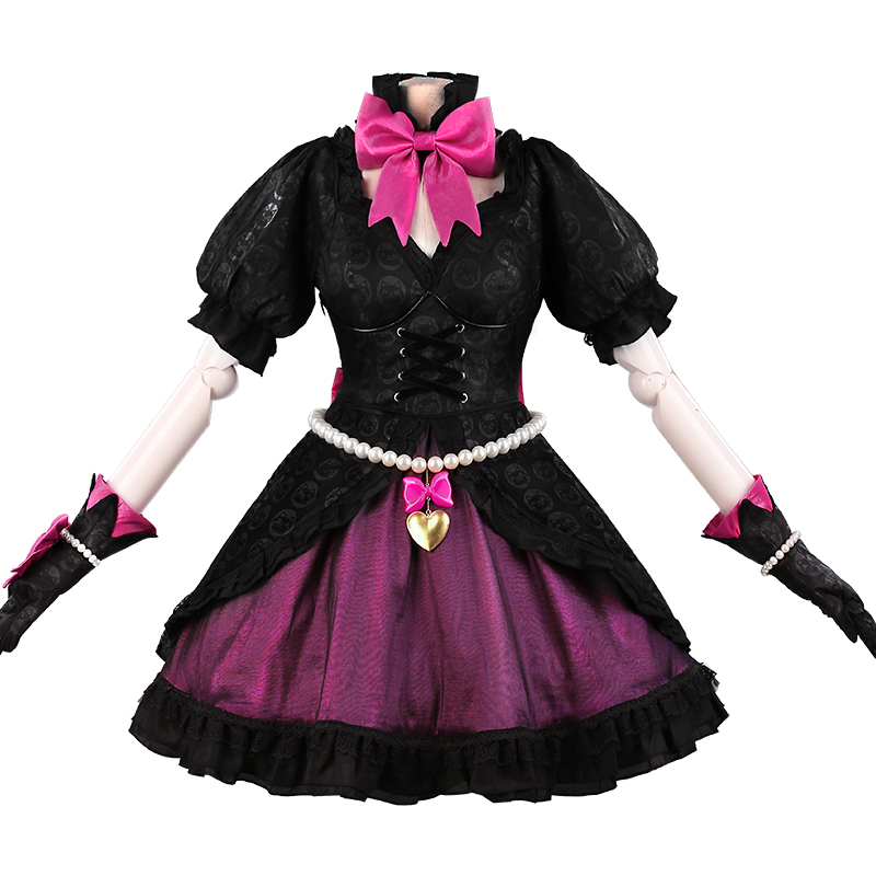 UWOWO Anime jeu OW DVA chat noir Cosplay Costume chat noir D. va robe femmes fille fête Costumes Cosplay