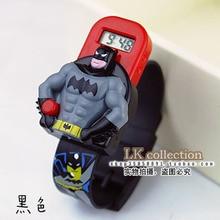 Tide мультфильм Броня Воин Altman часы Супермен Дети Цифровые Электронные наручные часы Мальчики и Девочки Мальчики стол