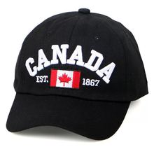 2019 Cotton Gorras Canada Baseball Cap Flag Of Hat Snapback Adjuatable Mens Caps Brand Adjustable