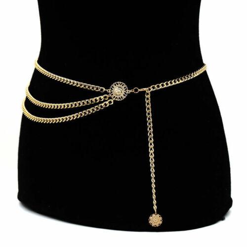 Luxury Women Beach Metal Waist Body Chain Belly Bra Bikini Boho Tassel Jewelry Chain Belt Gifts