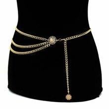 Luxury Women Beach Metal Waist Body Chain Belly Bra Bikini Boho Tassel Jewelry belt Gifts