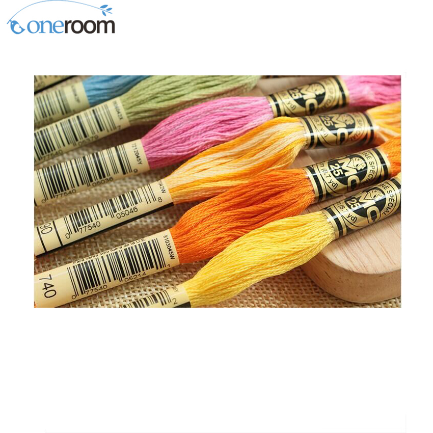 Embroidery threads DMC thread 200pcs of original DMC cotton thread true and real DMC cotton floss