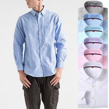LASPERAL Plus Size Men Dress Shirts Spring Autumn Cotton Long Sleeve Social Shirts Business Casual Shirt Mens Slim Camisa Autumn(China)