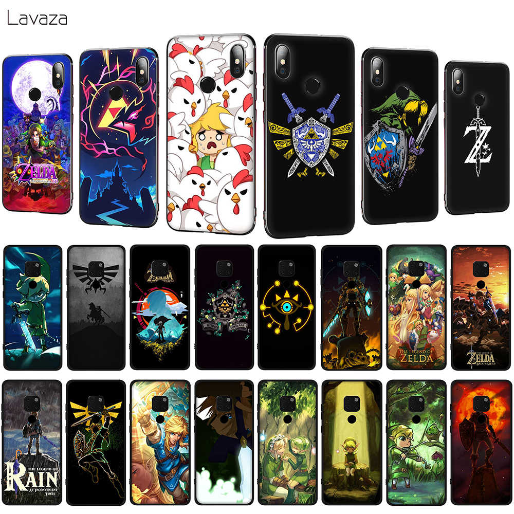 Lavaza Legend of Zelda Soft Phone Case for Huawei Mate 10 20 P10 P20 P30 Lite Pro P Smart 2019 TPU Cover