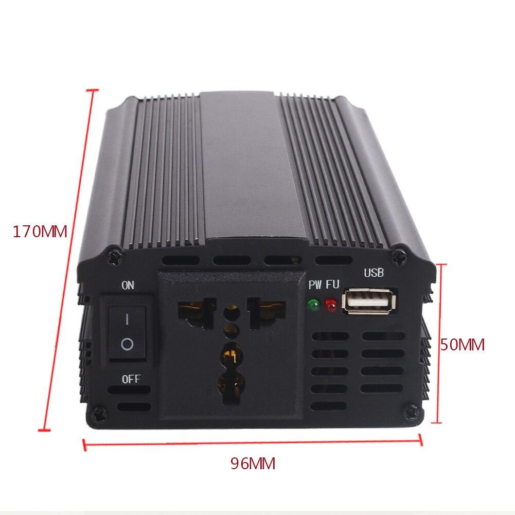 4000 Watt Peak Power Inverter DC 12V to AC 110V for RV Truck Cars Pickup 1000W