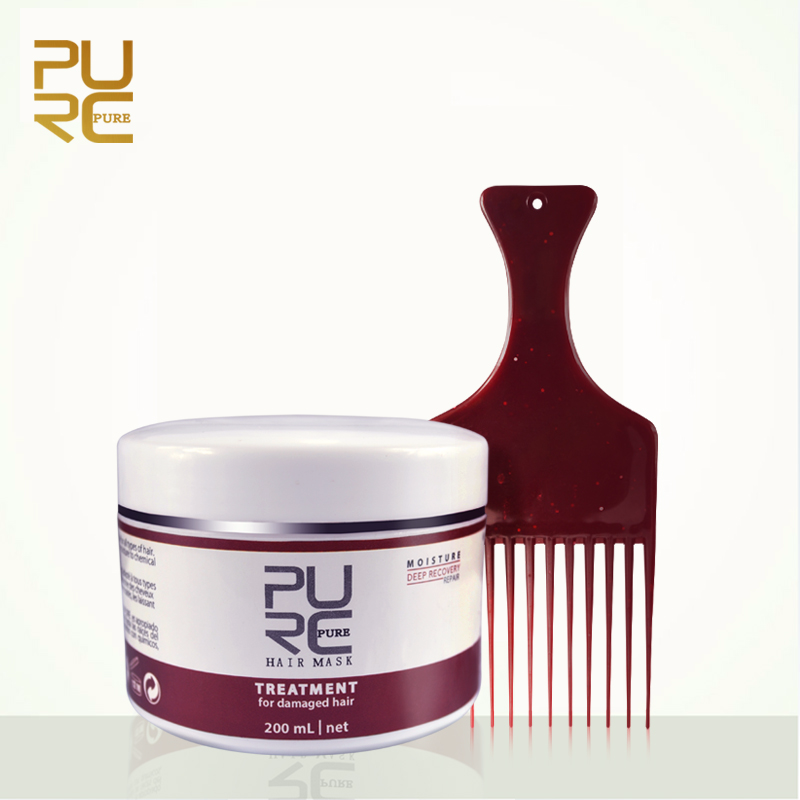 PURC Natural Hair Care Products Deep Repair Masque Hot Sale Hair Care Set 200ml Free Shipping Repairs Dry and Damaged Hair PURE