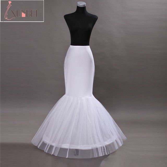 New Arrival Mermaid Petticoats For Mermaid Wedding Dress Crinoline Underskirt Underwear Wedding Accessories
