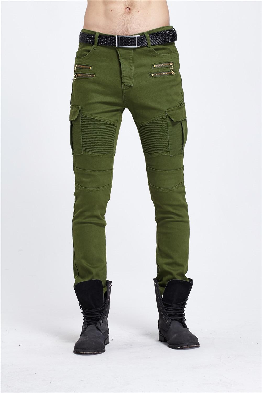 고품질 2017 신착 코스 CosMaMa 브랜드 남성용 디자이너 한국 패션 슬림 스키니 펑크 바이커 캐주얼 청바지