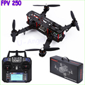 Mini FPV250 250mm Control quadrocopter quadcopter 4 Ejes con flysky fs-i6 Rack PARA QAV250 NAZE32 dron rc drones helicóptero