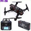 Mini FPV250 250mm kit Quadcopter quadrocopter 4 Eixos com Controle flysky fs-i6 Rack PARA QAV250 NAZE32 dron drones rc helicóptero