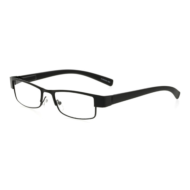 a5ab3ba6b9 Reading Glasses Metal Wire Rim Rectangular Frame Reading Glasses Full Rim  Frame Presbyopia strength +1.0 to +4.0
