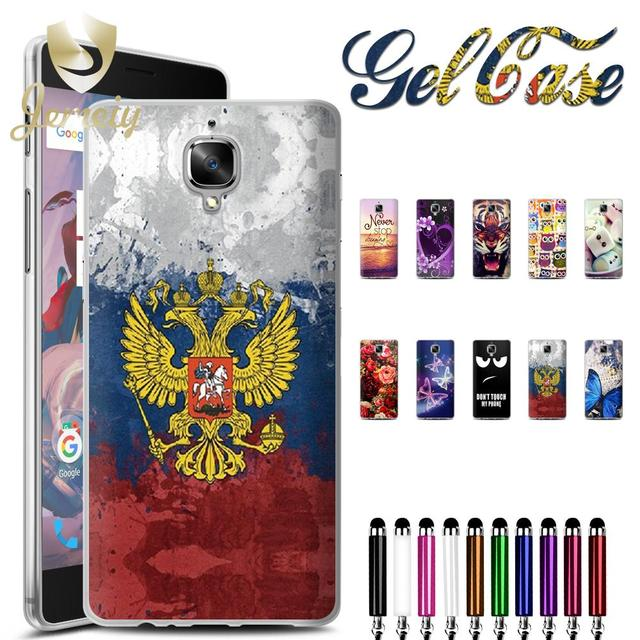 Accessories For One plus 3t A3003 Soft Silicon TPU Phone Protective Skin Case For Oneplus 3 Back Cover Bag Etui Coque Funda