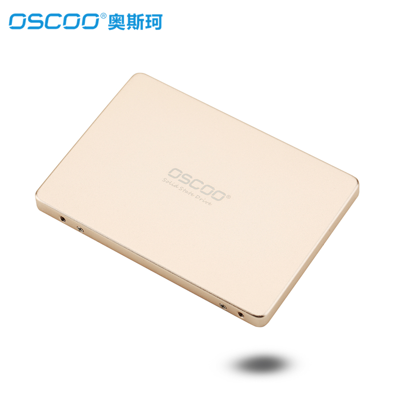OSCOO 2.5 SSD SATA III Solid State MLC Chipset Drive 64GB 128GB 256G Internal Solid State Drive for Desktop PC Laptop MacBook original fit for dell 64gb sata 6gbps dom internal solid state drive ssd mfr p n 6gmmx 06gmmx cn 06gmmx 100