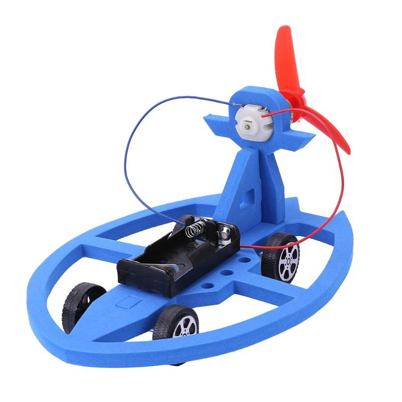 DIY Wind Car Toy Kids Air Vehicle Model Building Kits ...