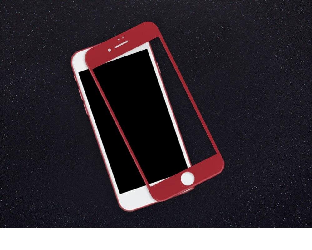 imágenes para Templado protector de pantalla de nillkin para el iphone 7 4.7 pulgadas 3d totalmente cubierta anti-explosión protector de pantalla de vidrio iphone7
