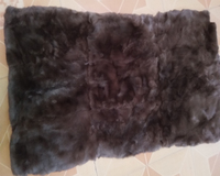 Rex Rabbit Fur Plate Plates actual Fur Rug good quality Garment Accessory New