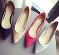 Мода женская обувь удобные плоские туфли Новое прибытие квартиры-803-20-Квартиры обувь больших размеров Женской обуви