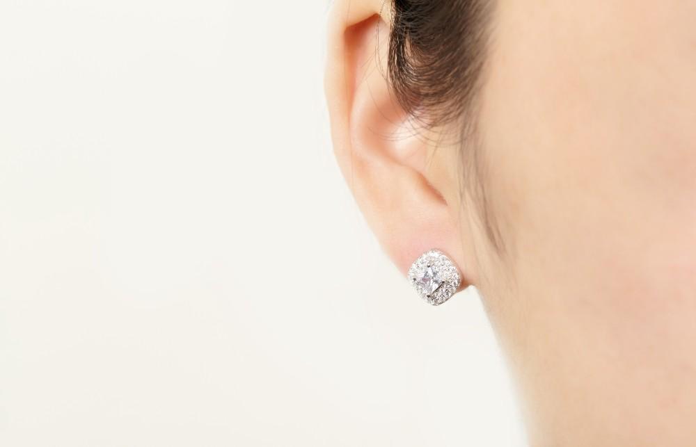 square shape stud earrings DE00710A (4)