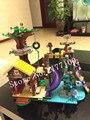 BELA 10497 739 Unids Amigos Aventura Campamento Casa Del Árbol columpio Modelo Minis Bloques de Construcción Juguetes de Niña Compatible 41122