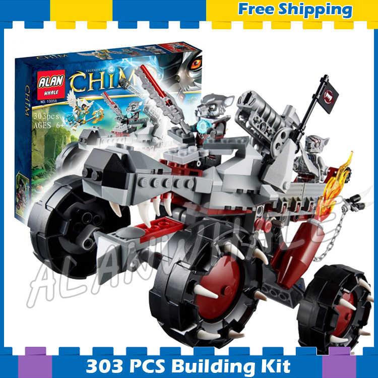 303 шт. Wakz разведчик Winzar Equila Road Off Vechile 10058 модель строительные блоки детские подарки для мальчиков наборы совместимы с Lego