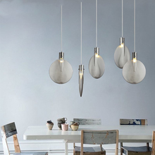 Nordic Loft Light Pendant Lamp Led Study Cafe Kitchen Hanging Reading Accesories Luminaire Singe Master Bedroom