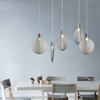 Nordic Loft Light Pendant Lamp Led Study Cafe Kitchen Hanging Reading Accesories Luminaire Singe Master Bedroom