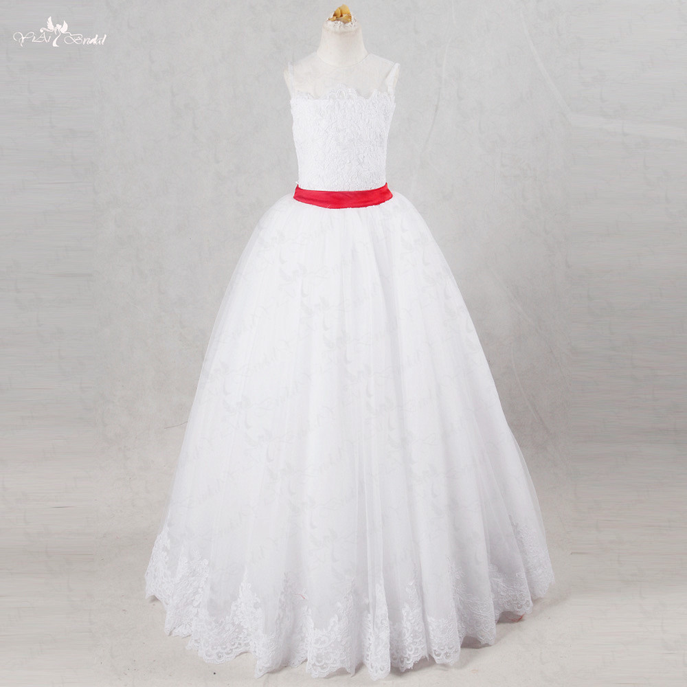 FG40 2 Pieces   Flower     Girl     Dresses   For Weddings Mother Daughter Gowns