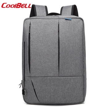COOL BELL New Multifunction 17.3 inch Laptop bag Backpack Portable Briefcase Business bag free shipping