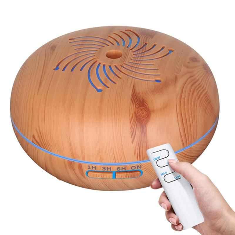 Горячая Распродажа 550 мл дистанционный ультразвуковой увлажнитель воздуха с 7