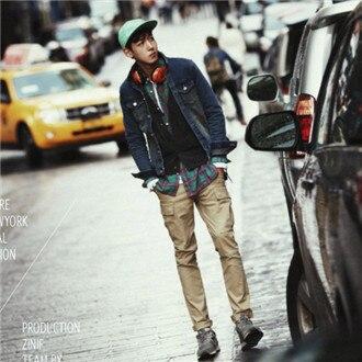 Men autumn jeans jacket men jackets for autumn outdoor jacket mens classic jackets britain coat J006