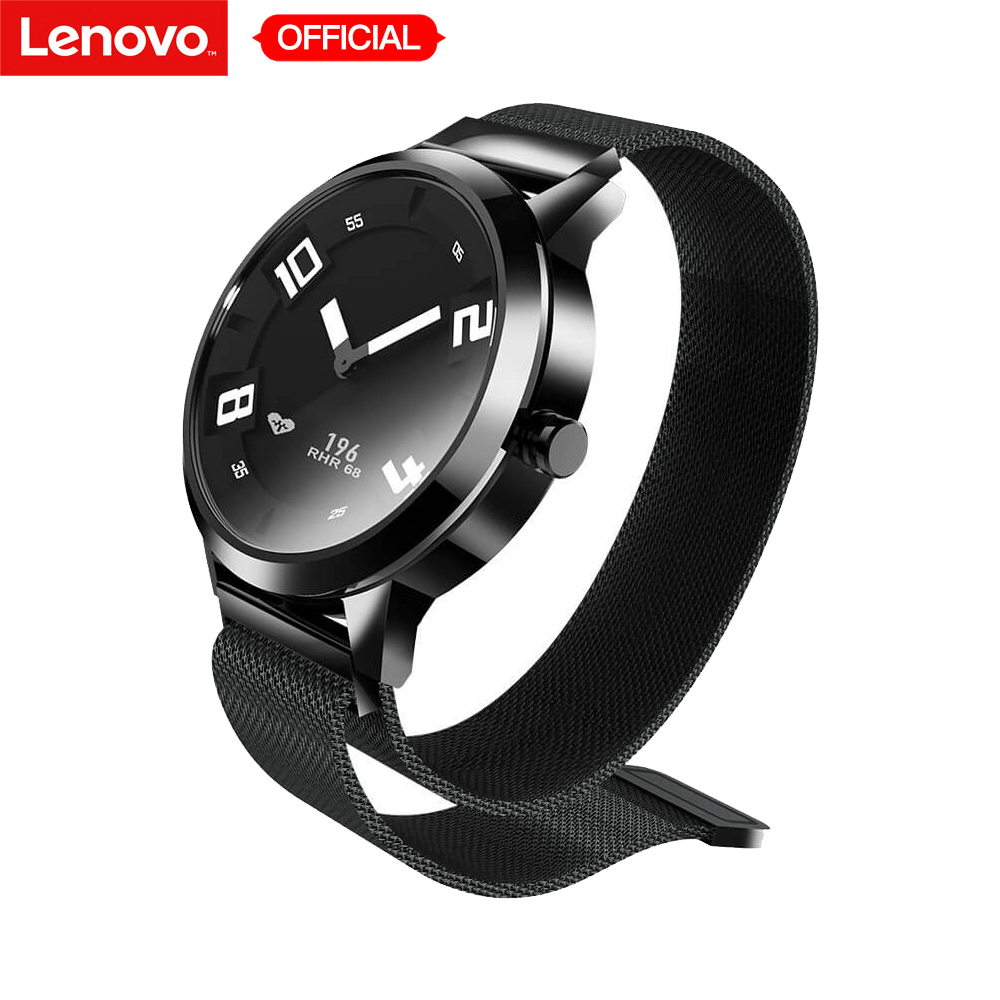 Original Lenovo Watch X Smartwatch with Milanese Strap 45days Standby Time 80M Waterproof Heart Rate Smart Watch for IOS AndriodOriginal Lenovo Watch X Smartwatch with Milanese Strap 45days Standby Time 80M Waterproof Heart Rate Smart Watch for IOS Andriod