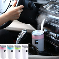 Car Humidifier USB Aromatherapy Diffuser Essential Oil Diffuser Air Ultrasonic Humidifiers Air Aroma Diffuser Mist Maker