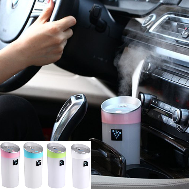 Ruijie voiture humidificateur USB Aromatherapy diffuseur d'huiles essentielles air Humidificateurs à ultrasons air diffuseur de brouillards 300ML