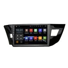 Unidad Principal del coche GPS Navi para Corolla 2014 2015 de navegación GPS cabeza dispositivo 2din Radio RDS mapa Video Reproductor Multimedia android 5.1.1