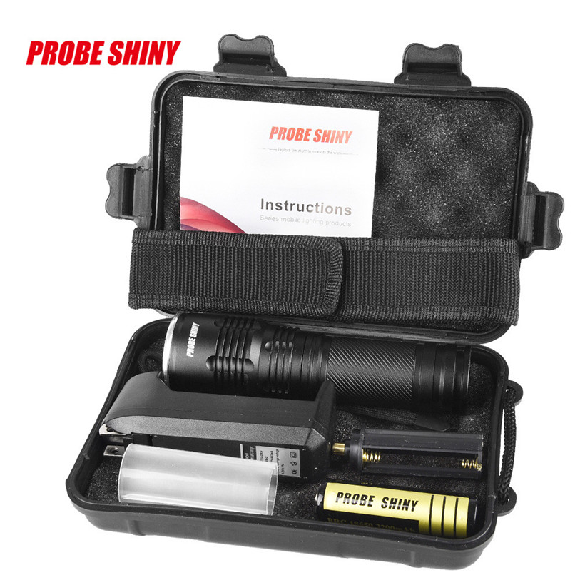 Tactical Police 5000LM Zoom XM-L T6 LED 5Modes Flashlight Aluminum Torch  Outdoor Sports Bike Bicycle Cycling Accessories Oct 27
