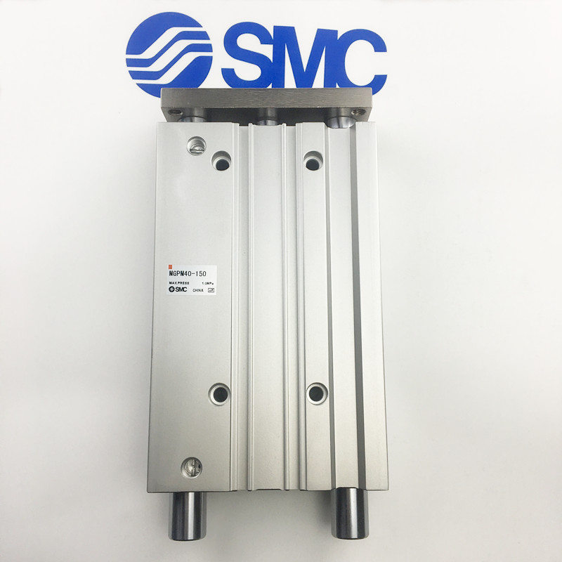 MGPM40-30 MGPM40-40 MGPM40-50 SMC compact guide cylinder Thin Three-axis cylinder with rod cylinder MGPM seriesMGPM40-30 MGPM40-40 MGPM40-50 SMC compact guide cylinder Thin Three-axis cylinder with rod cylinder MGPM series