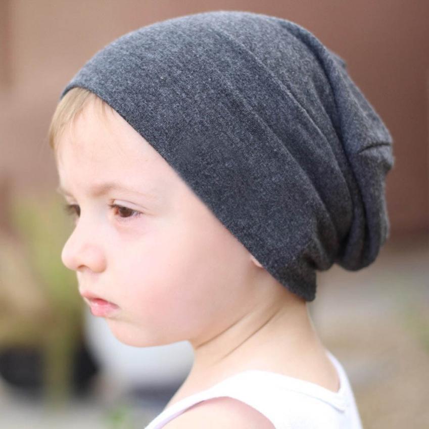 Toddler Infant Kids Baby Boys Girls Children Cotton Soft Hip Hop Hat Cap Beanie