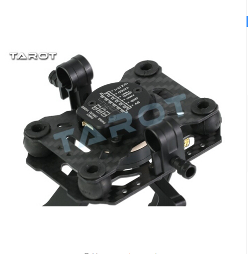 F17391 Tarot TL3T01 Update from T4 3D 3D Metal 3 axle Brushless Gimbal for GOPRO 4 / 3+/ 3 FPV Photography - 6