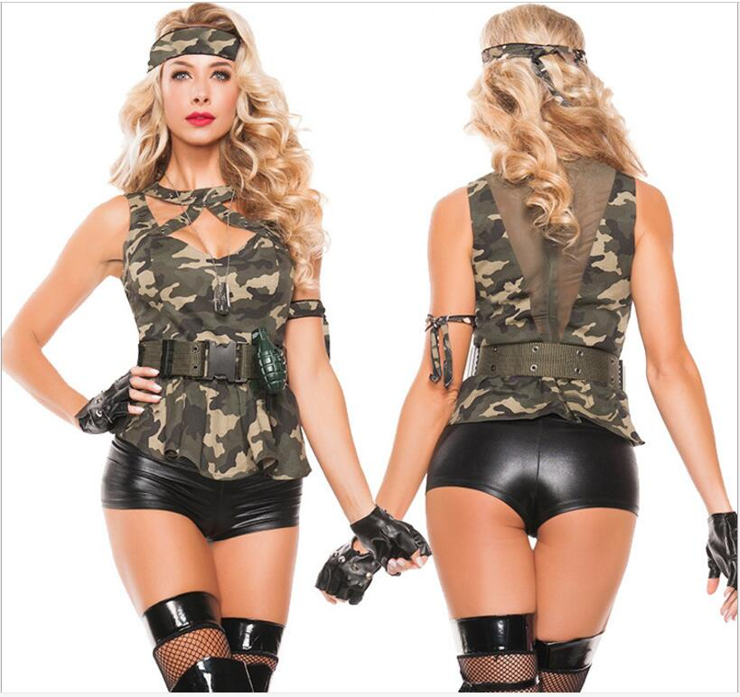 9dc2ddb3c2e Hot Sexy Black Halloween Costumes For Women Police Role Play ...