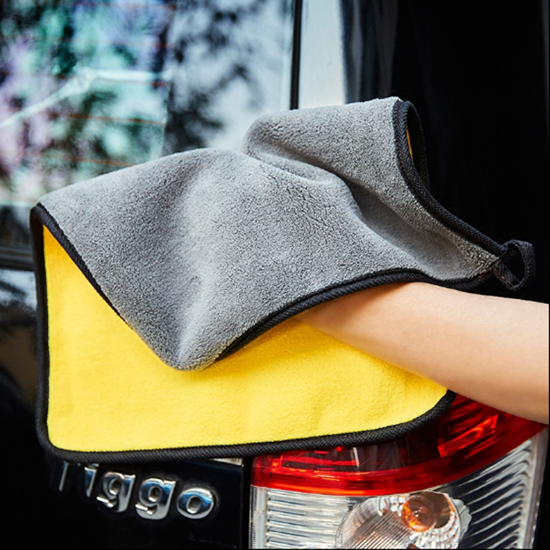 Hot Selling 30*30cm Soft Microfiber Cleaning Towel Car Auto Wash Dry Clean Polish Cloth