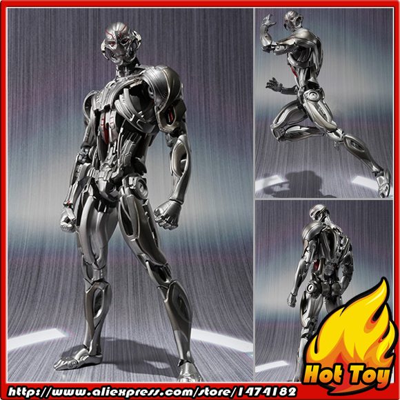 100% Original BANDAI Tamashii Nations S.H.Figuarts (SHF) Exclusive Action Figure - Ultron from Avengers 2 Age of Ultron 100% original bandai tamashii nations s h figuarts shf exclusive action figure garo leon kokuin ver from garo