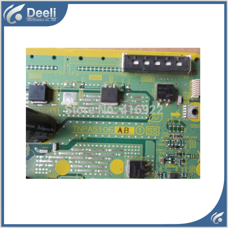 95% new original for TH-P50U20C SS /X board TNPA5106AB TNPA5106 AB plate good Working 95% new original for original th p42s25c z board ss board tnpa5106 mc106f16t13 y board
