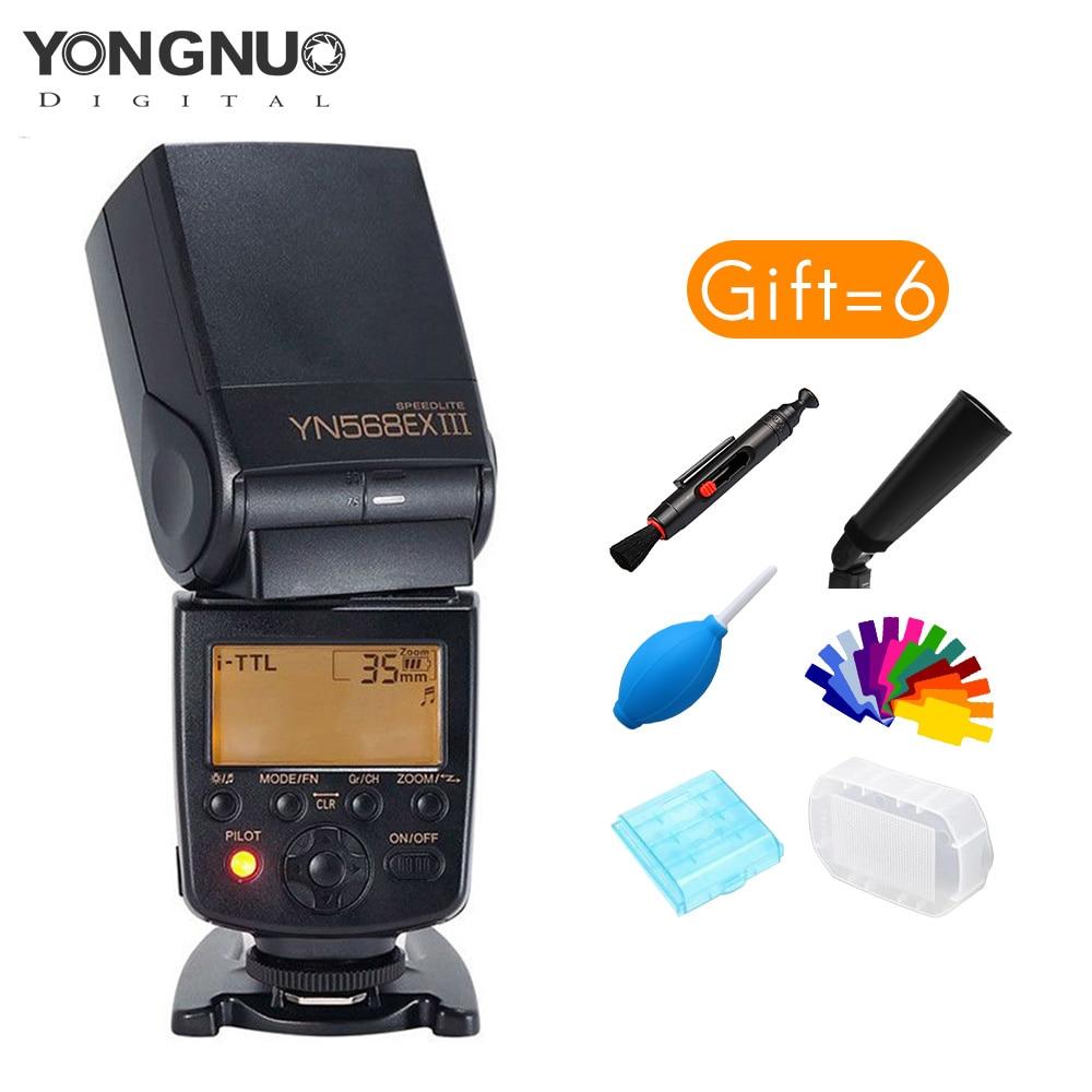 Yongnuo YN568EX III 2.4G TTL High Speed Sync Wireless Flash Speedlite For Nikon D750 D810 D3400 D3200 D5600 D5300 D7100 D7200