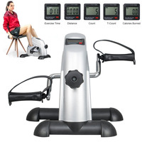 2019 New Electric Pedal Exerciser YS 09 Mini Steppers LCD Screen Display Home Cycle Exerciser Home Office Fitness Equipments