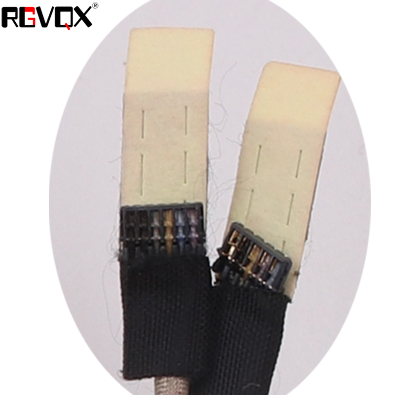 Computer Cables Laptop Cable for ACER Aspire 4736 4535 4735 4935 Cable Length: As Photo Show, Color: Black 5pin for DC02000R600 Repair Notebook LCD LVDS Cable -