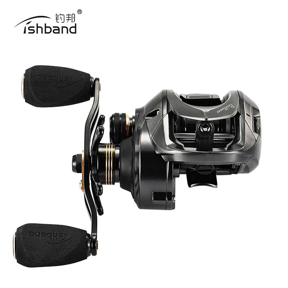 Fishband 2019 New Baitcasting Reel GH150 GH100 7 2 1 Lightest bait lure casting fishing reel