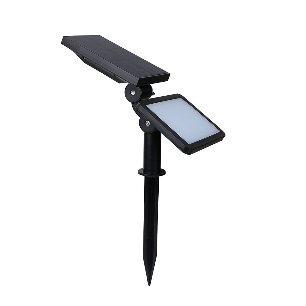Led Solar Reflector Lights Outdoor Security Floodlight Ip65 Waterproof Auto Induction Solar Flood Light For Lawn Garden Pool
